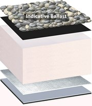 Bauder Thermoplan FPO Inverted Roof System - Loose Ballasted