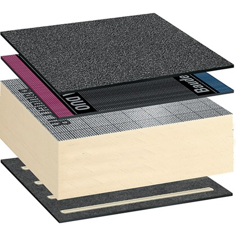 Bauder Total Warm Roof System - Self Adhered
