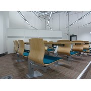 Inova 'Turn & Learn' Seating Double with Continuous Desk