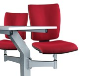 Inova 'Turn & Learn' Seating Double with Twin Desk