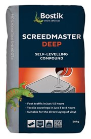 Bostik Screedmaster Deep - Bedding and underlay compounds