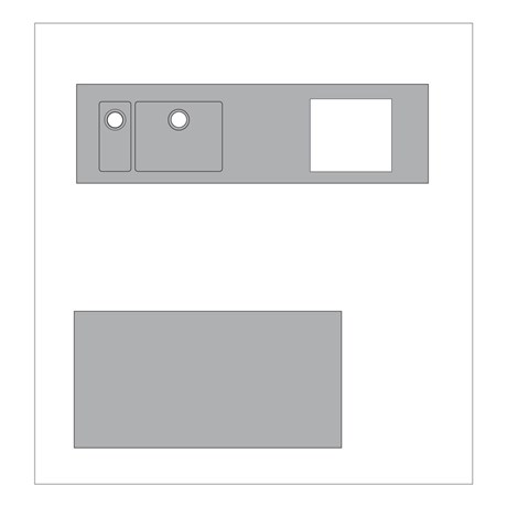 Stainless Steel Worktops - Straight