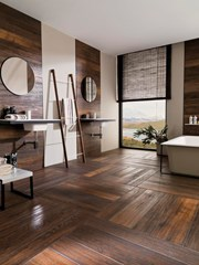 HAMPTON - Imitation wood Ceramic tiles