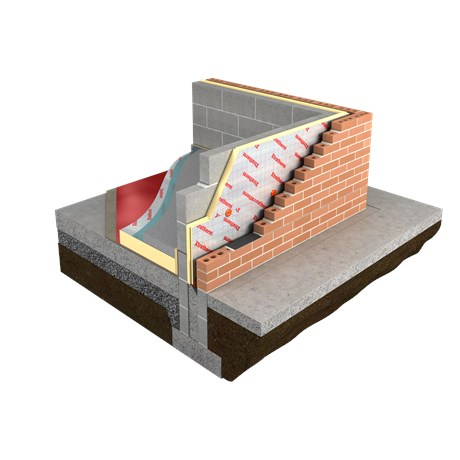Thin-R Partial Fill Cavity Wall Insulation