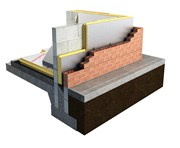 XtroLiner Partial Fill Cavity Wall Insulation