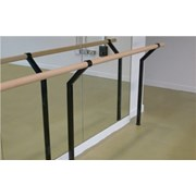 Floor-mounted Single Ballet Barre Bracket
