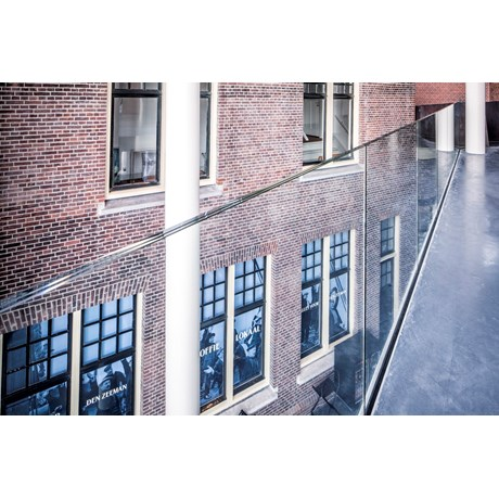Q-railing Easy Glass Pro - Fascia Mount