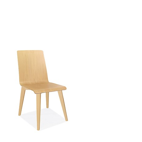 Bjorn - Four Leg Wooden Frame Chairs