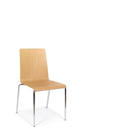 Bjorn - Four Leg Steel Frame Chairs
