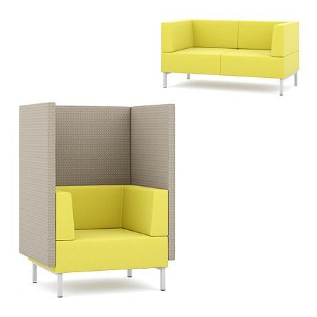 Fence -Upholstered sofa units