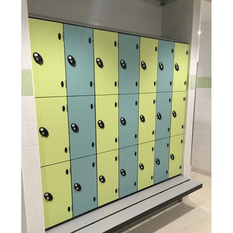 Supreme Range Locker - Three Tier