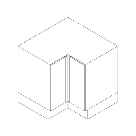 Base Cabinet, Corner