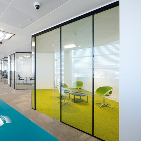 Kinetic Seal SG Partition & Sliding Door - Panel partitions