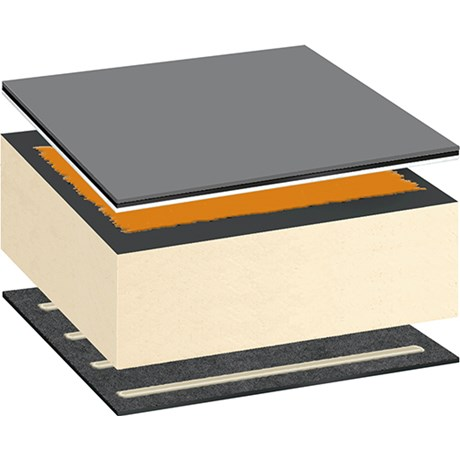 Bauder Thermofol PVC Warm Roof System - Adhered
