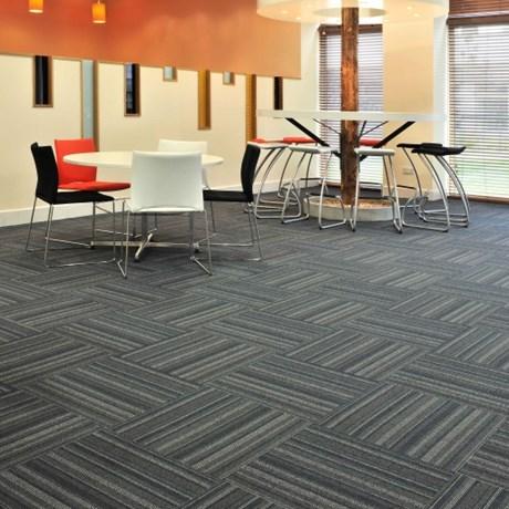 Tessera Barcode Carpet Tile