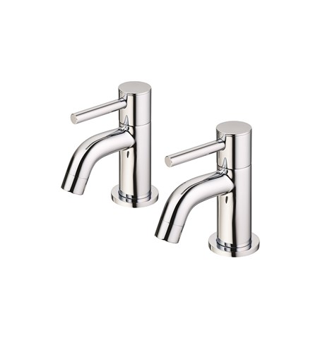 Ceraline Bath Pillar Taps