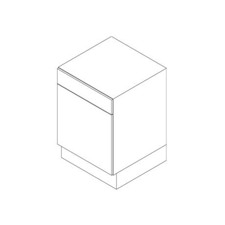 Base Cabinet, 2 Drawer