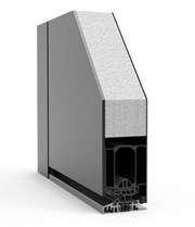 Entre Single with Side Panels RK1200 - Doorset system