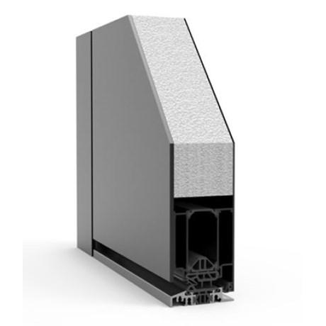Entre Single with Side Panels RK1400 - Doorset system