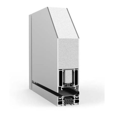 Pivot Single with Side Panel RK1100 - Doorset system
