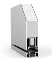 Pivot Single with Side Panel RK1600 - Doorset system