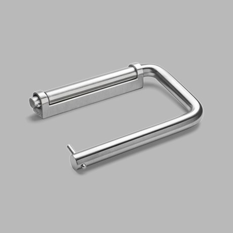 Toilet roll holder 145 mm, SSS bracket
