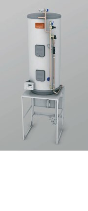 Megaflo Cylinder Package Hot Water Only - Intermediate Shallow Frame