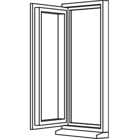 Heritage 2800 Flush Casement - Single Opener - C4