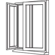 Heritage 2800 Flush Casement - Opener/Opener - C10