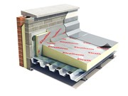 Thin-R  Aluminium Faced Tapered Insulation