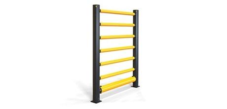iFlex High Level Single Traffic Barrier+ 6 Rails