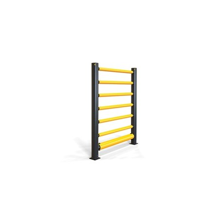 iFlex High Level Single Traffic Barrier+ 6 Rails