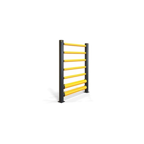 iFlex High Level Double Traffic Barrier+ 5 Rails