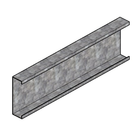 CS Beam without service holes