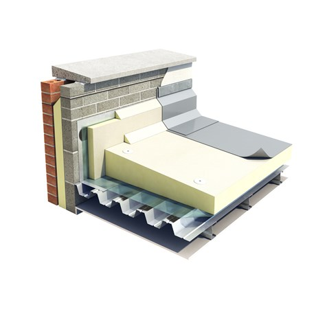 Thin-R  Mineral Glass Faced Tapered Insulation