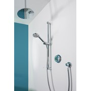Quartz - Digital Divert Concealed With Adjustable Head And Ceiling Fixed Drencher