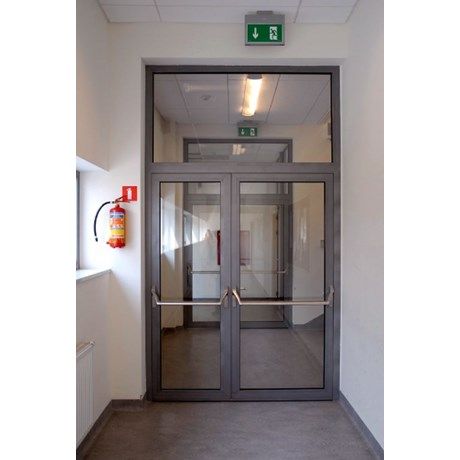Indeglås Doors Double - Aluminium Door - AG