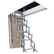 Supreme F30 Heavy Duty Retractable Ladder with Fire Rated Steel Hatch