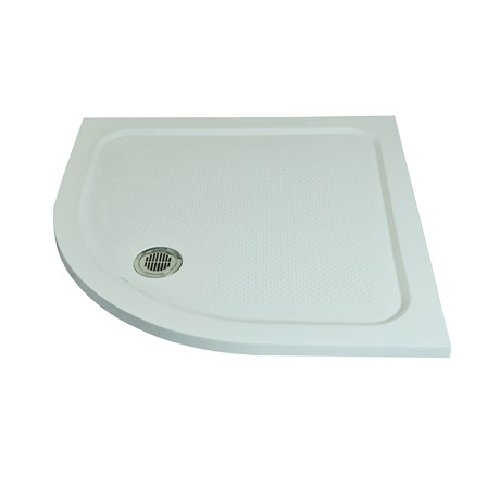 Anti-Slip Shower Tray Square Curve