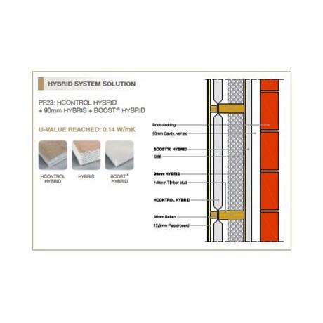 Timber Frame Wall System HY - Hybrid System