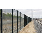 Securifor 358 + Bekafix Super - Metal mesh fence panel