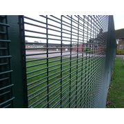 Securifor 4D + Bolt Spider Fixators - Metal mesh fence panel