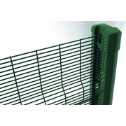 Securifor 3D + Bekafix Super - Metal mesh fence panel