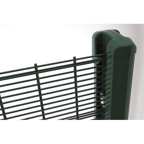 Securifor 2D + Bekafix Super - Metal mesh fence panel