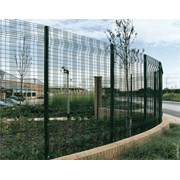 Paladin Classic + Twilfix - Metal mesh fence panel