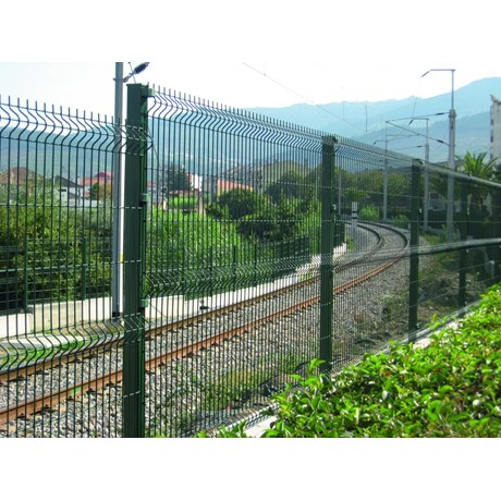 Nylofor 3D + Twilfix - Metal mesh fence panel