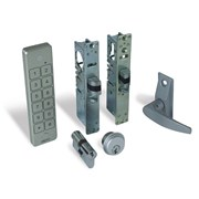 Alpro internal (access control optional) doors - Waterproof Keypad, Lever