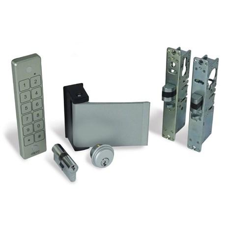 Alpro internal (access control optional) doors. - Waterproof keypad, Paddle