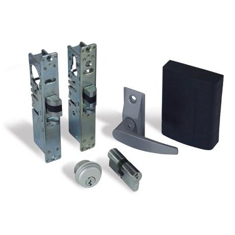 Alpro internal (access control optional) doors. - Backlit Keypad, Lever