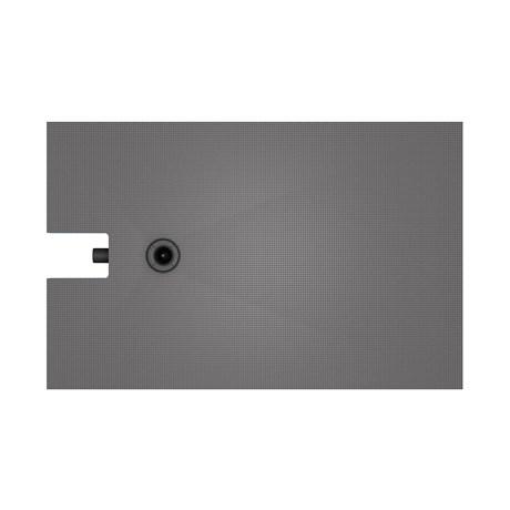 wedi Fundo Integro, offset drain